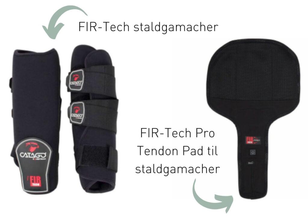 FIR-Tech staldgamacher og FIR-Tech Pro Tendon Pad