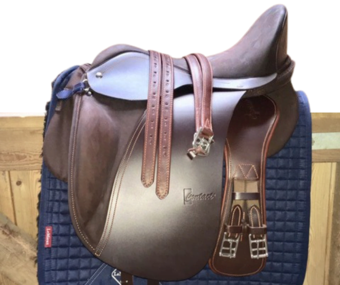Bomløs sadel uden kopfjern fra Contact Saddle.