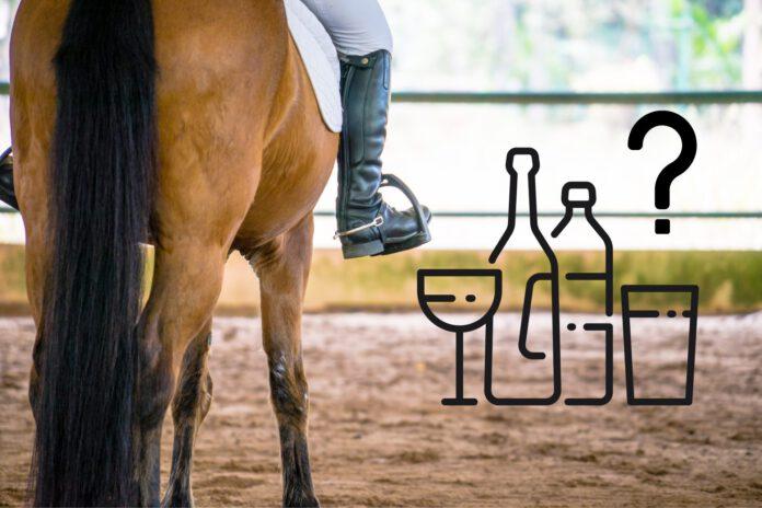alkoholpåvirket til hest