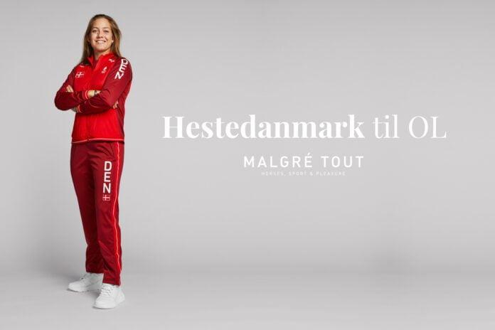 Danske ryttere til OL