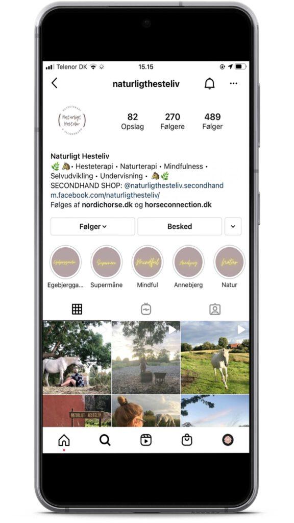 Naturligt hesteliv er en instagrammer med holistisk syn på heste