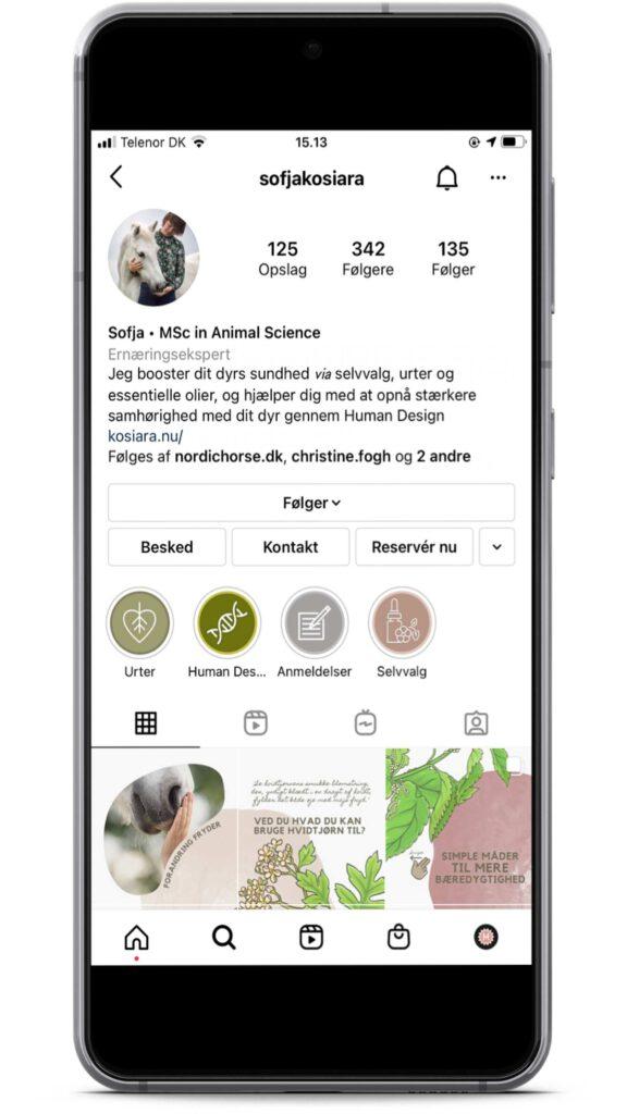 Sofja Kosiara er en instagrammer med holistisk syn på heste